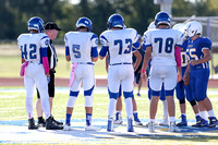 10-6-16-16 FB  Frosh Brock Gold v Nolan Catholic Hays 6005