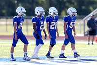 10-6-16-16 FB  Frosh Brock Gold v Nolan Catholic Hays 6006